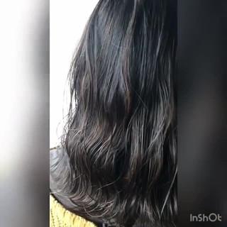 女子力 大人かわいい セミロング ゆるふわ ヘアスタイルや髪型の写真・画像