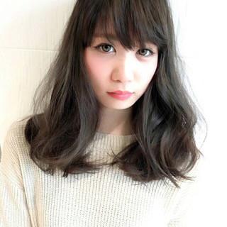 アッシュ ブルージュ 外国人風カラー グレージュ ヘアスタイルや髪型の写真・画像