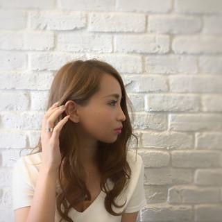 ヘアアレンジ 色気 ロング ウェットヘア ヘアスタイルや髪型の写真・画像
