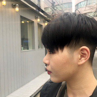 勝又理恵さんのヘアスナップ