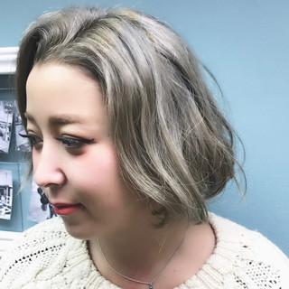ナチュラル 外国人風 ショート 外国人風カラー ヘアスタイルや髪型の写真・画像