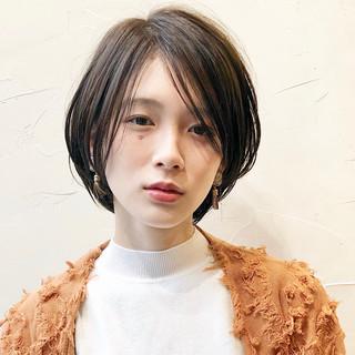 ミニボブ ショート ショートボブ 大人ショート ヘアスタイルや髪型の写真・画像