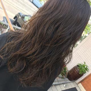 モテ髪 波ウェーブ パーマ デジタルパーマ ヘアスタイルや髪型の写真・画像