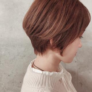 ショートヘア ショートボブ ショート 大人ヘアスタイル ヘアスタイルや髪型の写真・画像