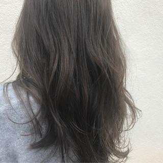 ハイライト グレージュ 透明感 外国人風 ヘアスタイルや髪型の写真・画像