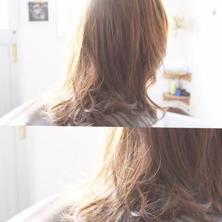 大人女子 フェミニン 透明感 外国人風 ヘアスタイルや髪型の写真・画像
