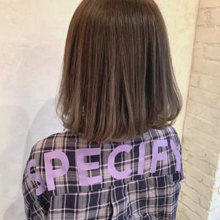 グラデーションカラー アッシュ グレージュ ハイライト ヘアスタイルや髪型の写真・画像 ヘアスタイルや髪型の写真・画像