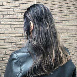 バレイヤージュ ストリート 外国人風 外国人風カラー ヘアスタイルや髪型の写真・画像