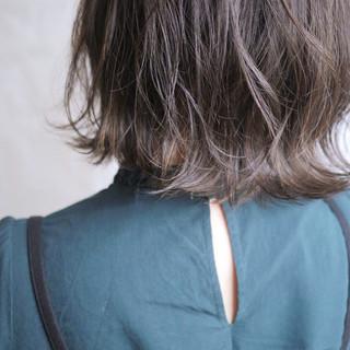 ナチュラル ミディアム ヘアスタイルや髪型の写真・画像 ヘアスタイルや髪型の写真・画像