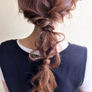 まとめ髪 ロング 簡単ヘアアレンジ 大人かわいい ヘアスタイルや髪型の写真・画像 ヘアスタイルや髪型の写真・画像