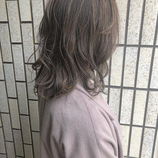 ナチュラル ブラウンベージュ 外国人風カラー ブラウン ヘアスタイルや髪型の写真・画像