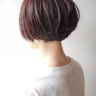 コンサバ ショート ゆるふわ 愛され ヘアスタイルや髪型の写真・画像