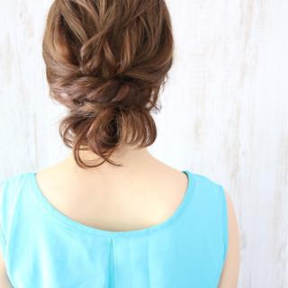ロング 夏 大人かわいい 涼しげ ヘアスタイルや髪型の写真・画像