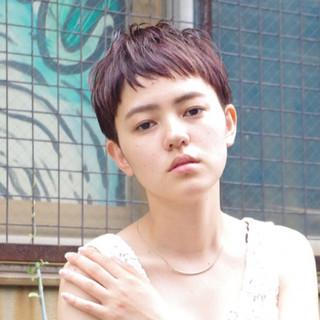 ハイライト ワイドバング アッシュ 外国人風 ヘアスタイルや髪型の写真・画像
