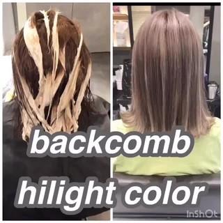 外国人風カラー アンニュイほつれヘア グレージュ ナチュラル ヘアスタイルや髪型の写真・画像