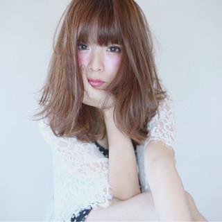 ミディアム かっこいい 無造作 かわいい ヘアスタイルや髪型の写真・画像