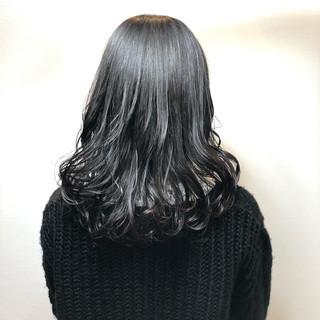 ナチュラル コテアレンジ コテ巻き 似合わせカット ヘアスタイルや髪型の写真・画像