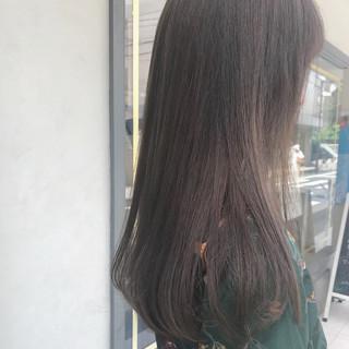 オフィス デート ロング 黒髪 ヘアスタイルや髪型の写真・画像