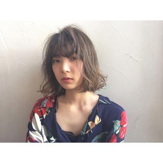色気 ボブ ヘアアレンジ ナチュラル ヘアスタイルや髪型の写真・画像