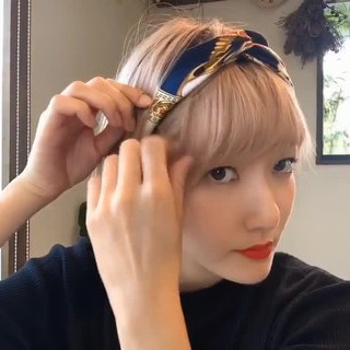 ミニボブ ヘアアレンジ 透明感 ショート ヘアスタイルや髪型の写真・画像