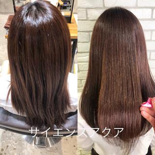 髪質改善 トリートメント デート サイエンスアクア ヘアスタイルや髪型の写真・画像