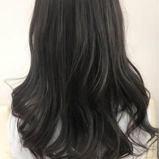 ナチュラル 透明感 イルミナカラー アッシュ ヘアスタイルや髪型の写真・画像