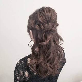 簡単ヘアアレンジ デート 成人式 結婚式 ヘアスタイルや髪型の写真・画像 ヘアスタイルや髪型の写真・画像