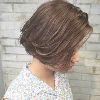 ハイライト ナチュラル 簡単ヘアアレンジ フェミニン ヘアスタイルや髪型の写真・画像