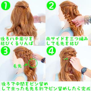 上品 エレガント 簡単ヘアアレンジ 女子会 ヘアスタイルや髪型の写真・画像 ヘアスタイルや髪型の写真・画像