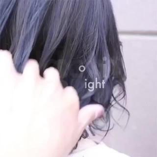 バレイヤージュ グラデーションカラー ハイライト ヘアアレンジ ヘアスタイルや髪型の写真・画像