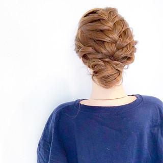 上品 エレガント ヘアアレンジ 簡単ヘアアレンジ ヘアスタイルや髪型の写真・画像 ヘアスタイルや髪型の写真・画像