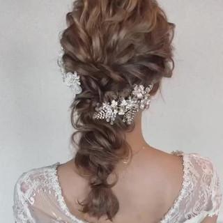大人女子 大人かわいい ガーリー ヘアアレンジ ヘアスタイルや髪型の写真・画像
