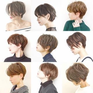 スポーツ ショート ストリート アウトドア ヘアスタイルや髪型の写真・画像
