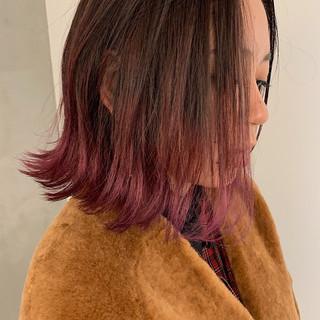 ピンクグラデーションヘア特集♡ガーリーからモードまで