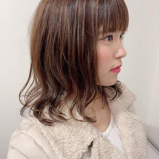 デジタルパーマ 3Dハイライト フェミニン 髪質改善カラー ヘアスタイルや髪型の写真・画像