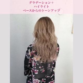 ロング 上品 エレガント 外国人風 ヘアスタイルや髪型の写真・画像