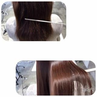 ビビり毛 ナチュラル ロング サラサラ ヘアスタイルや髪型の写真・画像