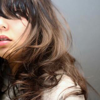 ガーリー ワイドバング 暗髪 ピュア ヘアスタイルや髪型の写真・画像
