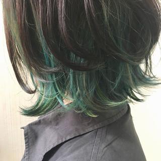 大人かわいい ミディアム 渋谷系 透明感 ヘアスタイルや髪型の写真・画像