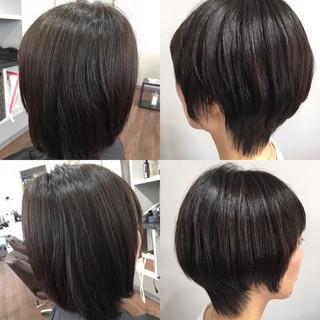 ベリーショート ショートヘア ショート ナチュラル ヘアスタイルや髪型の写真・画像