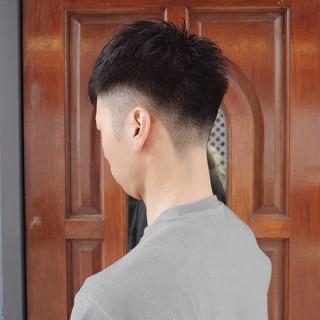 刈り上げ メンズヘア ショート ツーブロック ヘアスタイルや髪型の写真・画像