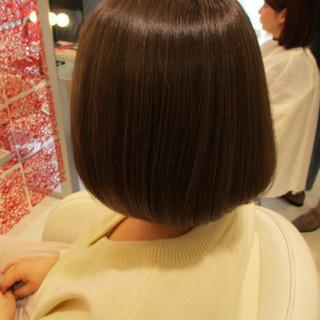 ブラウン 外国人風 イルミナカラー アッシュ ヘアスタイルや髪型の写真・画像