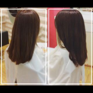 髪質改善 ロング ナチュラル 髪質改善カラー ヘアスタイルや髪型の写真・画像 ヘアスタイルや髪型の写真・画像