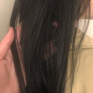 ブルーアッシュ グレーアッシュ ヘアカラー アッシュ ヘアスタイルや髪型の写真・画像