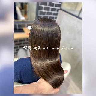 トリートメント 髪質改善トリートメント 髪質改善 艶髪 ヘアスタイルや髪型の写真・画像