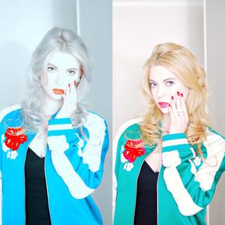 外国人風 こなれ感 グラデーションカラー ハイライト ヘアスタイルや髪型の写真・画像