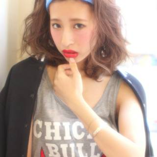 パンク ストレート 春 黒髪 ヘアスタイルや髪型の写真・画像