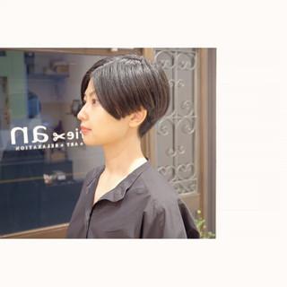 坊主 ショート モード 刈り上げ ヘアスタイルや髪型の写真・画像