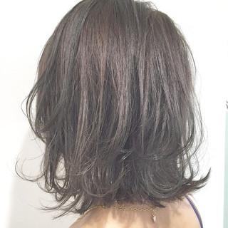 簡単ヘアアレンジ ウェットヘア ショート アッシュ ヘアスタイルや髪型の写真・画像