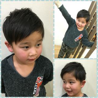 かっこいい 子供 ウェットヘア ストリート ヘアスタイルや髪型の写真・画像 ヘアスタイルや髪型の写真・画像